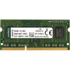 Модуль памяти для ноутбука Kingston SODIMM 4GB 1600MHz DDR3L Non-ECC CL11 1.35V KVR16LS11/4
