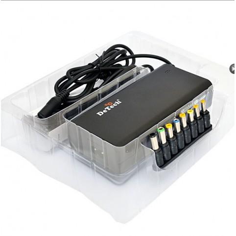 БП универсальный DeTech TJ-1130AC 90W USB