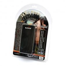 Блок питания для ноутбуков универсальный 2 в 1(220/12в) DeTech TJ-1199AC 90W USB